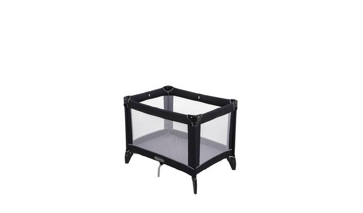 Graco Compact Travel Cot - Black Grey