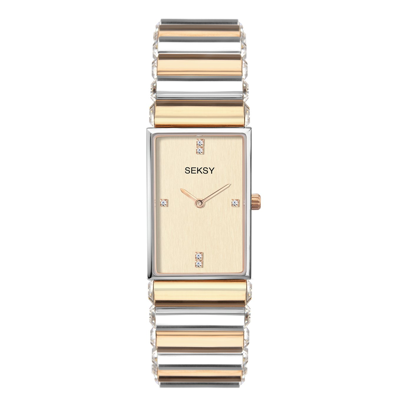 Seksy by Sekonda Ladies Two Tone Bracelet Watch