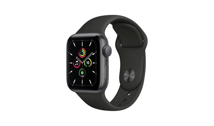 Apple Watch SE GPS 40mm SG Alu Case/Black Sport Band