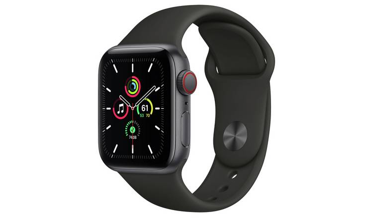 Apple Watch SE Cellular 40mm SG Alu Case/Black Sport Band