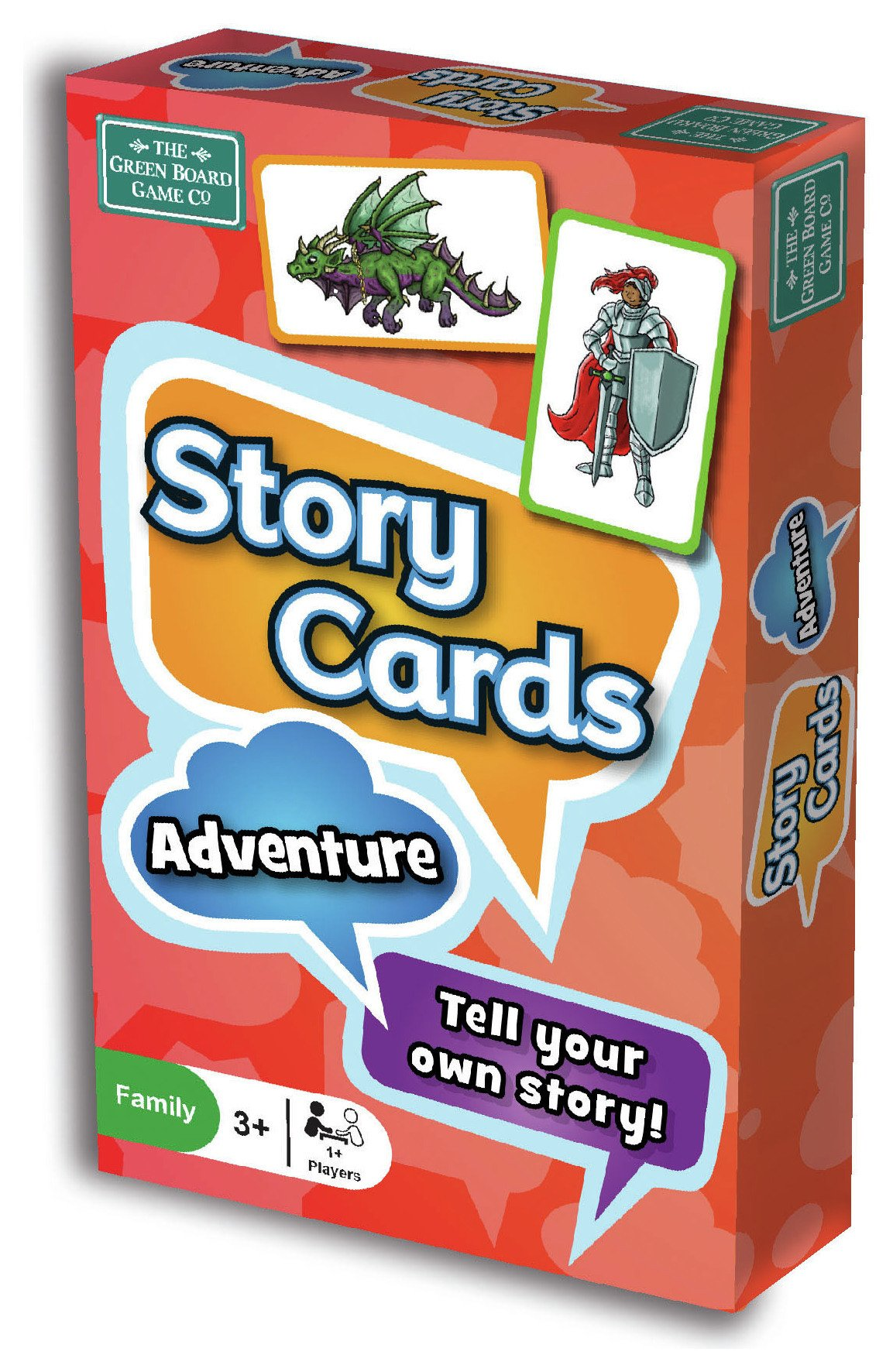 Image of Green Board Games Story Cards Adventure Card Game.