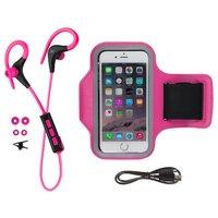 KitSound Race Wireless In-Ear Sports Headphones - Pink