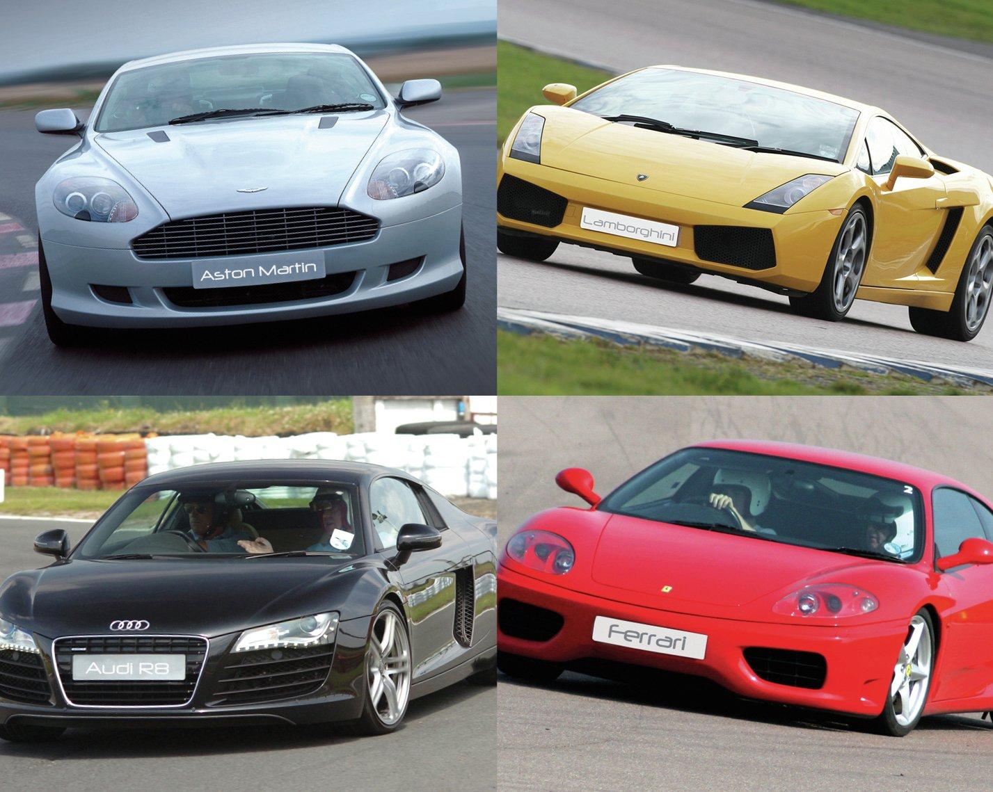 Image of Ferrari, Aston Martin, Lamborghini or Audi R8 Drive
