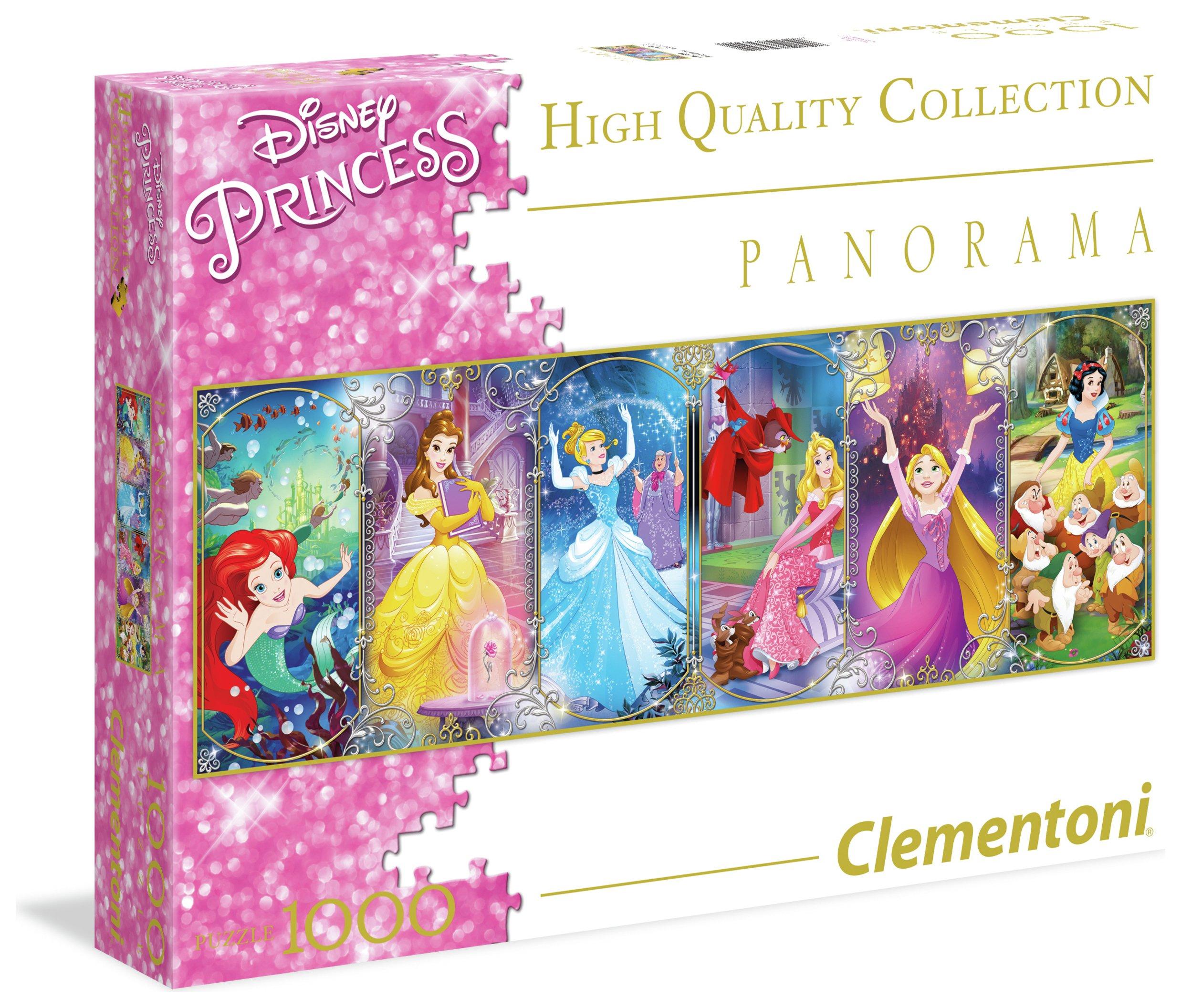 Image of Clementoni Disney Princess Panoramic 1000 Puzzle