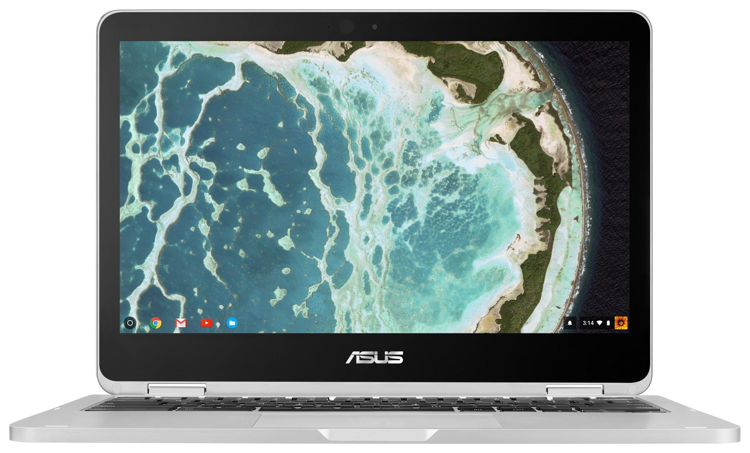 Asus Flip C302 10.1 Inch Core M 4GB 64GB Chromebook - Chrome