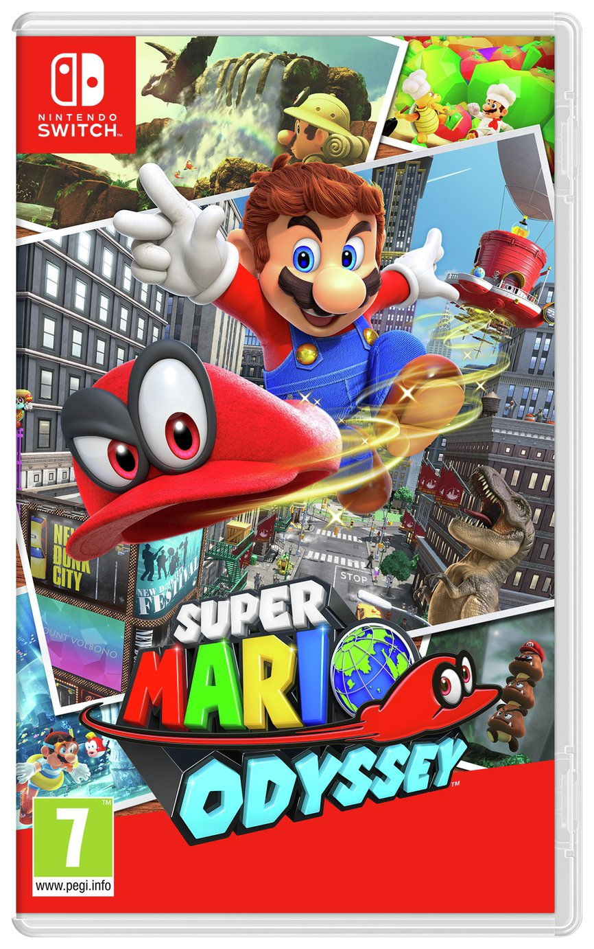 Super Mario Odyssey Nintendo Switch Game.