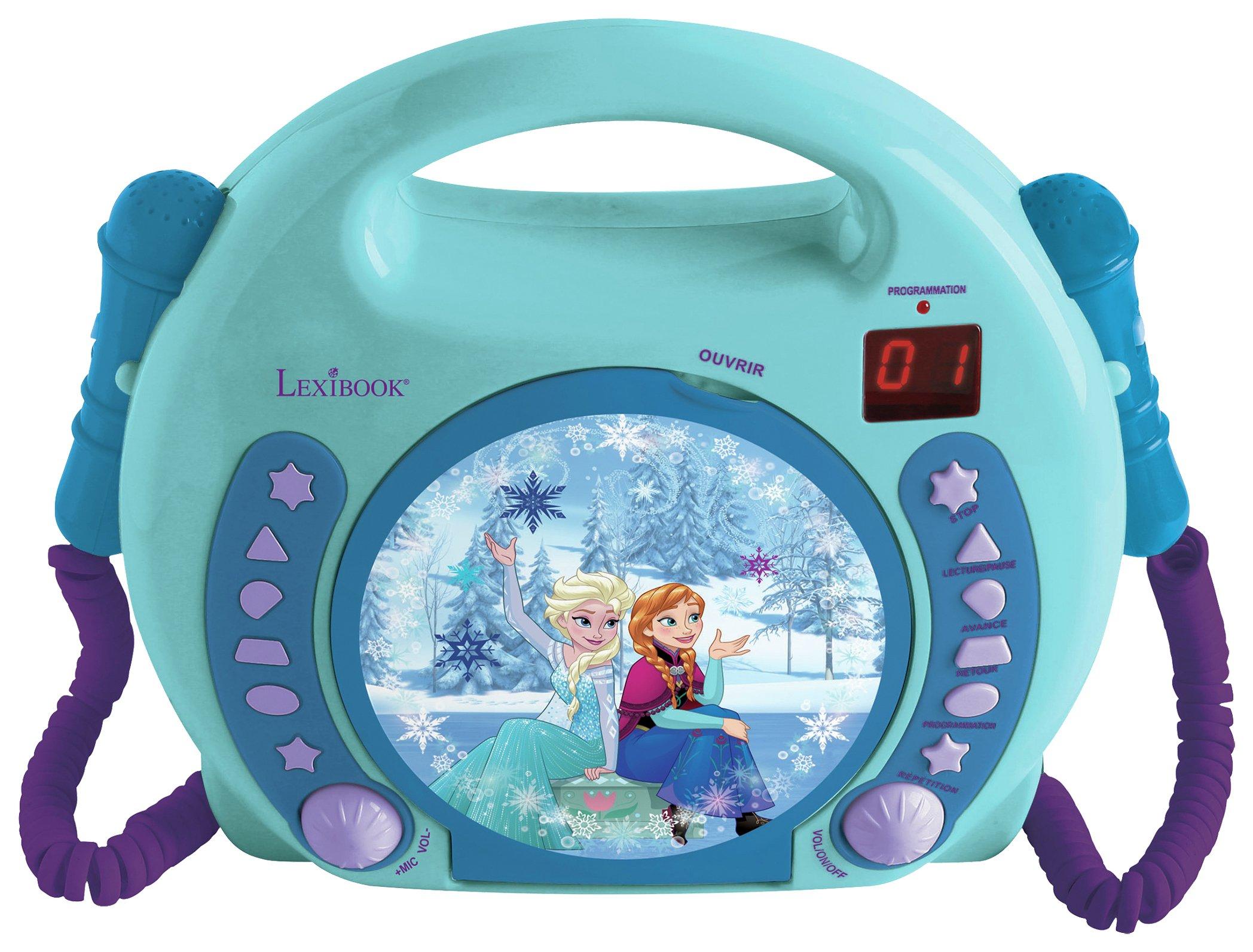 Disney Frozen CD Player with 2 Microphones.