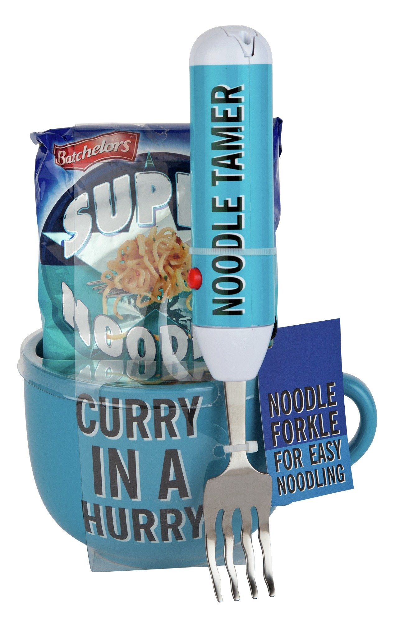 Image of Batchelors Super Noodles Curry In A Hurry with Fork
