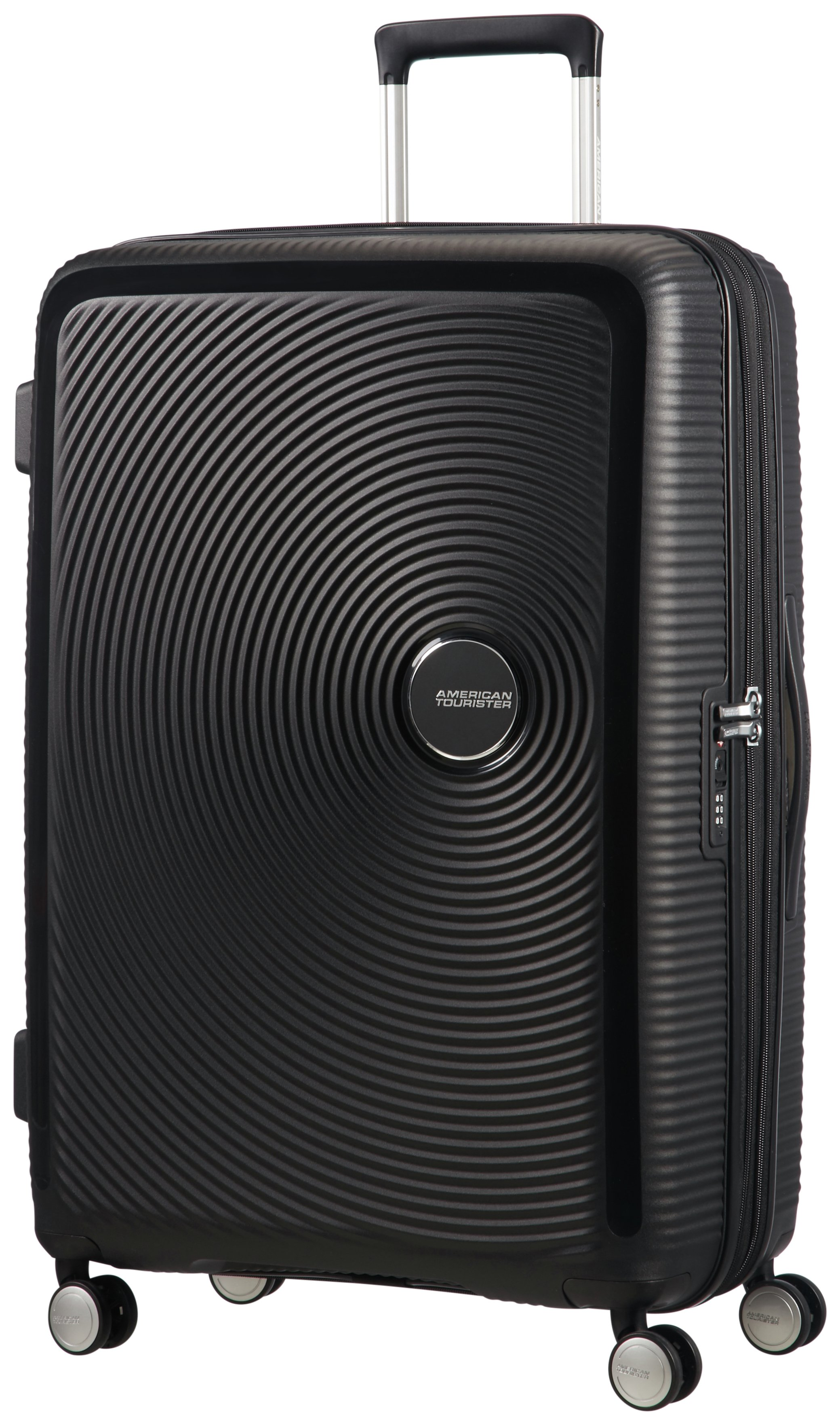 American Tourister Soundbox 8 Wheel Spinner 77 - Bass Black