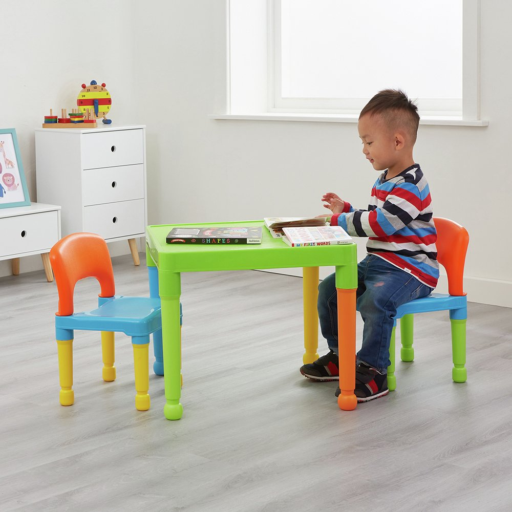 Liberty House Toys Children S Blue Table Amp Chairs Set