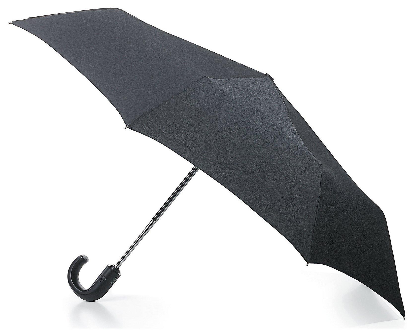 Fulton Open and Close Umbrella - Black