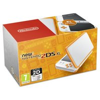 Nintendo 2DS XL Console - White / Orange