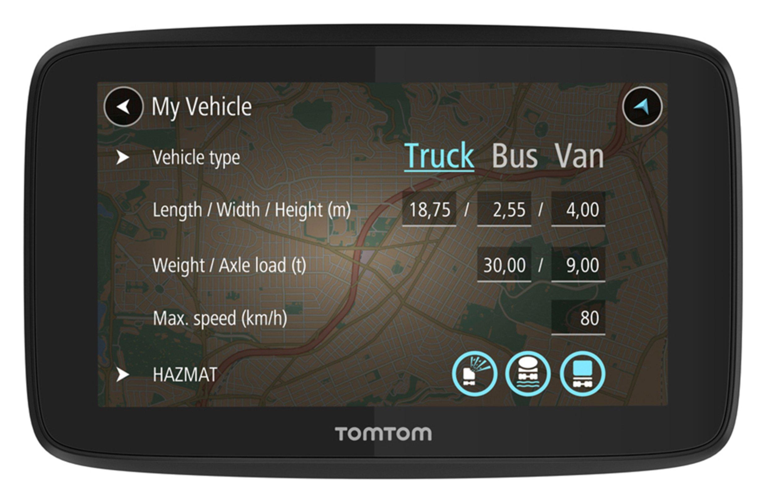 TomTom GO Professional 520 5 Inch EU Traffic Truck Sat Nav