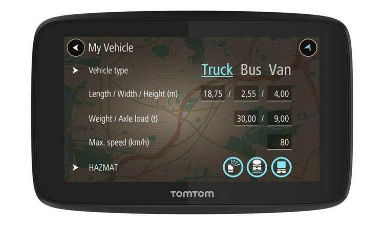 Buy TomTom GO Professional 520 5 Inch EU Traffic Truck Sat Nav | Sat nav |  Argos