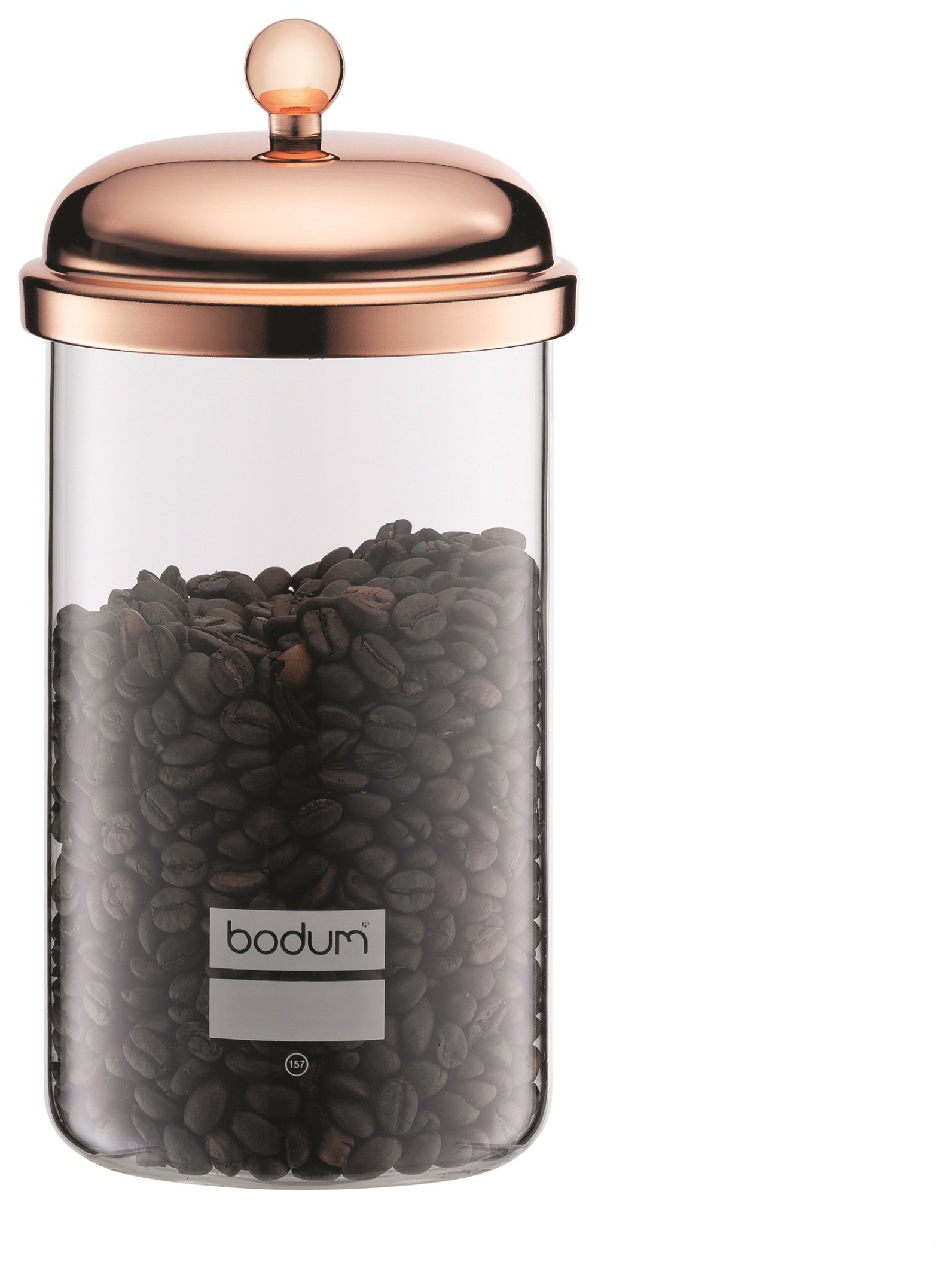 Image of Bodum Chambord Storage Jar - Copper