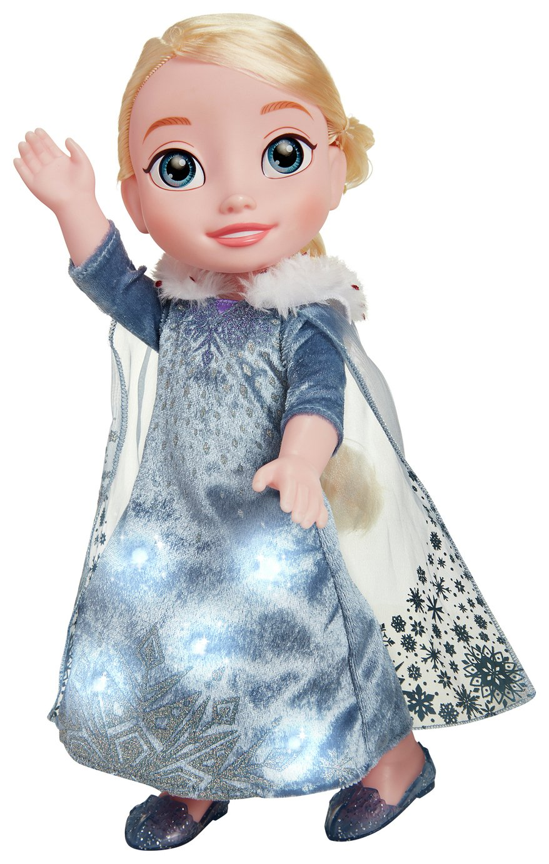 'Disney Olaf's Frozen Adventure Elsa Doll.