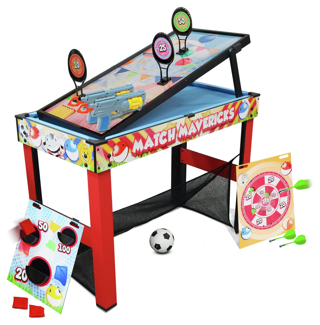 Chad Valley 6 in 1 Multi Games Table