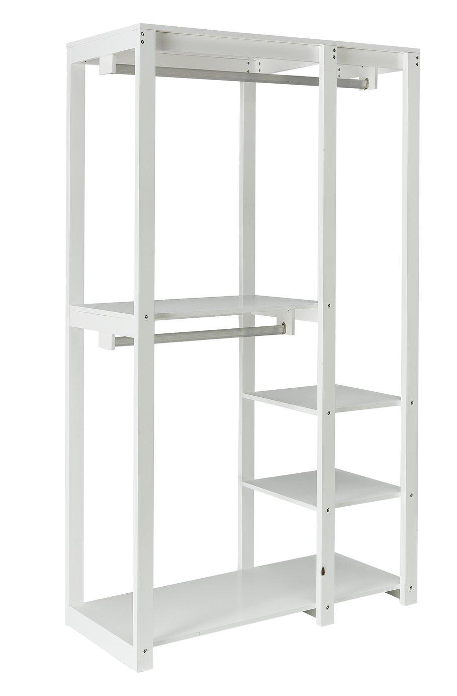 Argos Home Open Decorative Wardrobe Unit - White