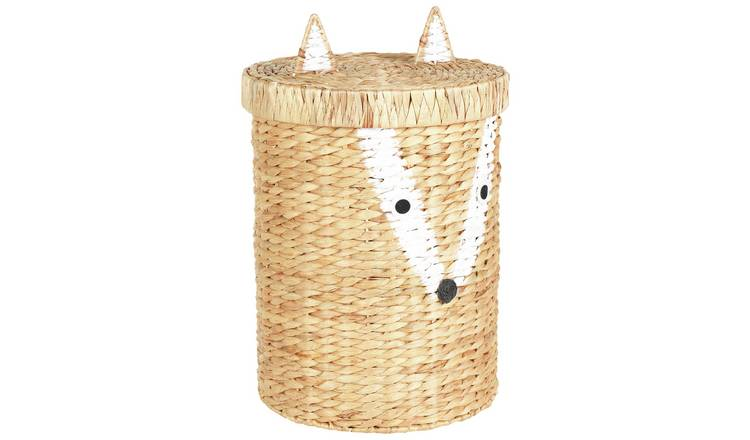 Argos Home Fox Water Hyacinth Laundry Basket