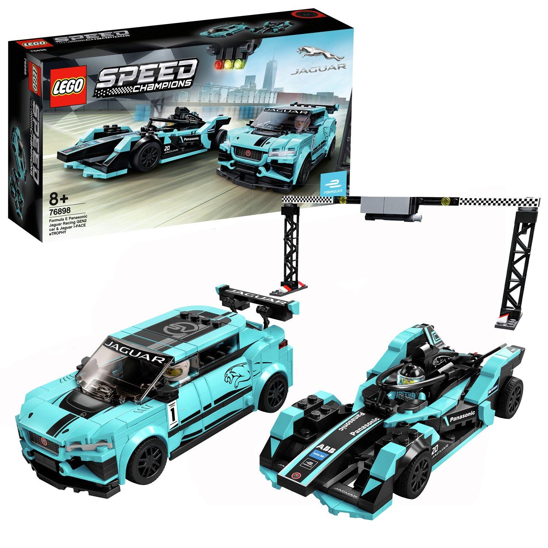 LEGO Speed Champions Panasonic Jaguar Racing Cars Set- 76898