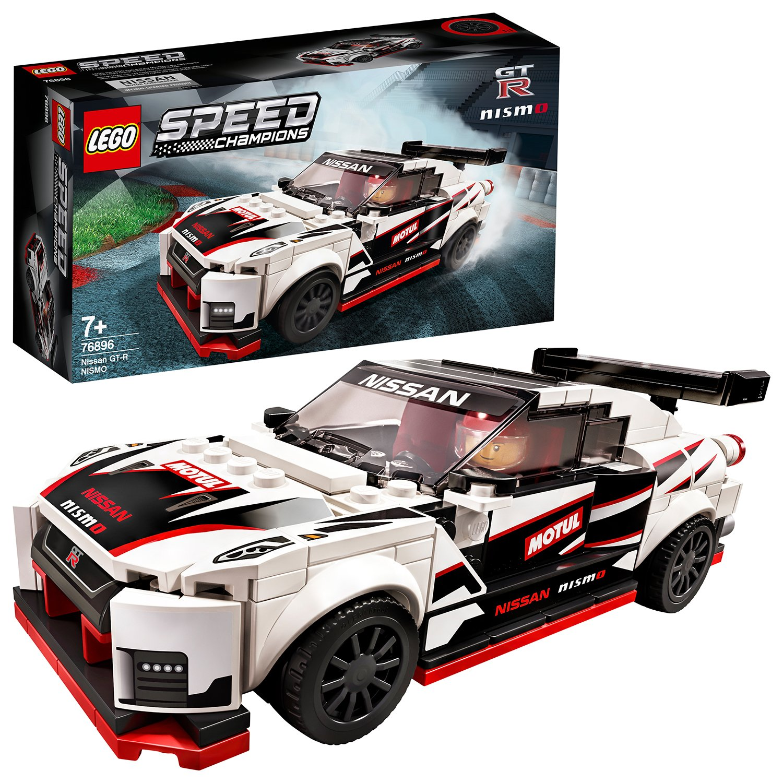 Buy LEGO Speed Champions Nissan GT-R NISMO Car Set - 76896 ...