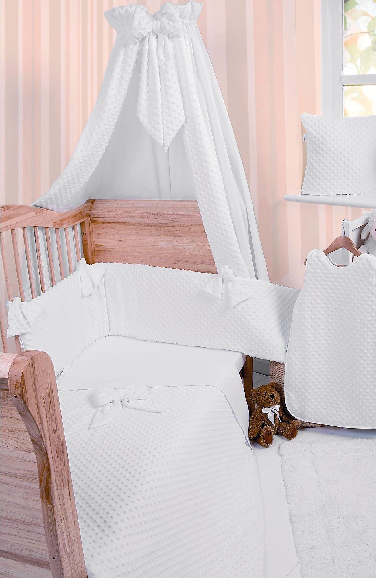 Clair de Lune Dimple 5 Piece Cot/Cot Bed Bedding Bale.
