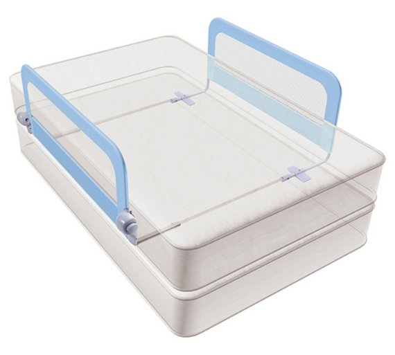 Summer Infant Grow With Me Blue Double Bed Rail