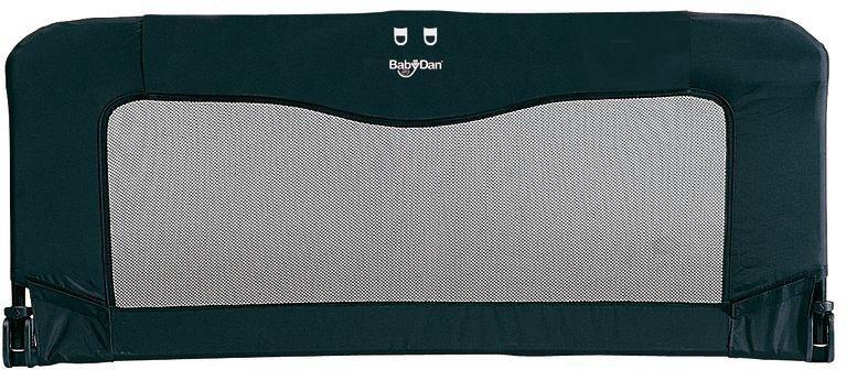 Image of BabyDan Folding Bedrail - Black.