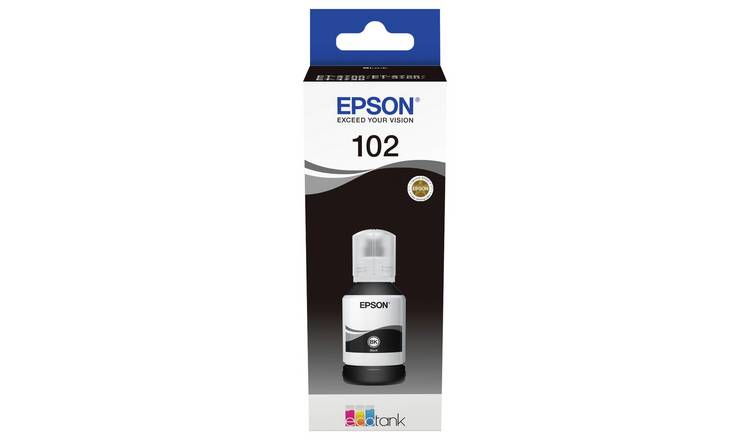 Epson 102 Ecotank Ink Bottle Refill - Black