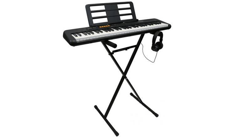 Casio CT-S100AD Keyboard, Stand and Headphones Bundle
