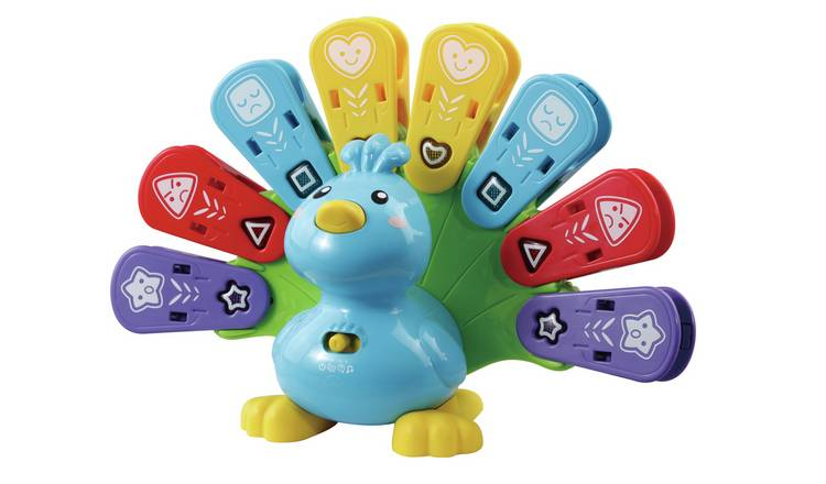 VTech Feathers and Feeling Peacock Activity Toy