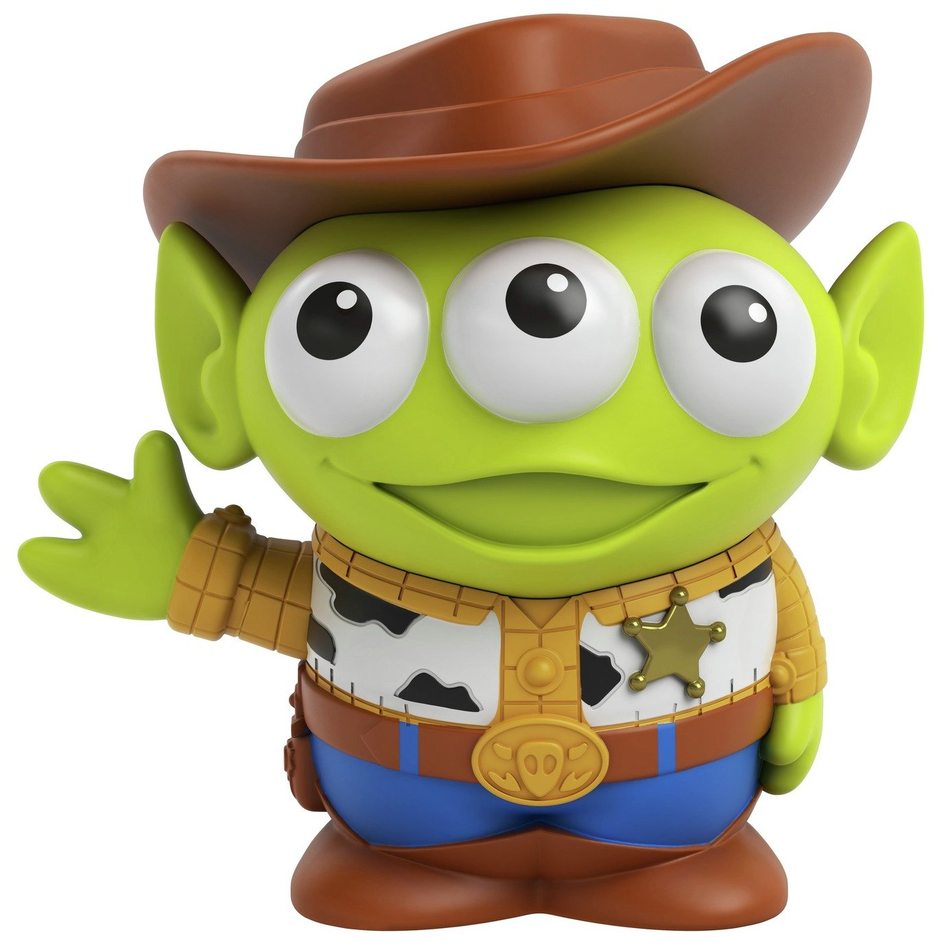 Disney Pixar Alien Dress-Up - Woody Figure