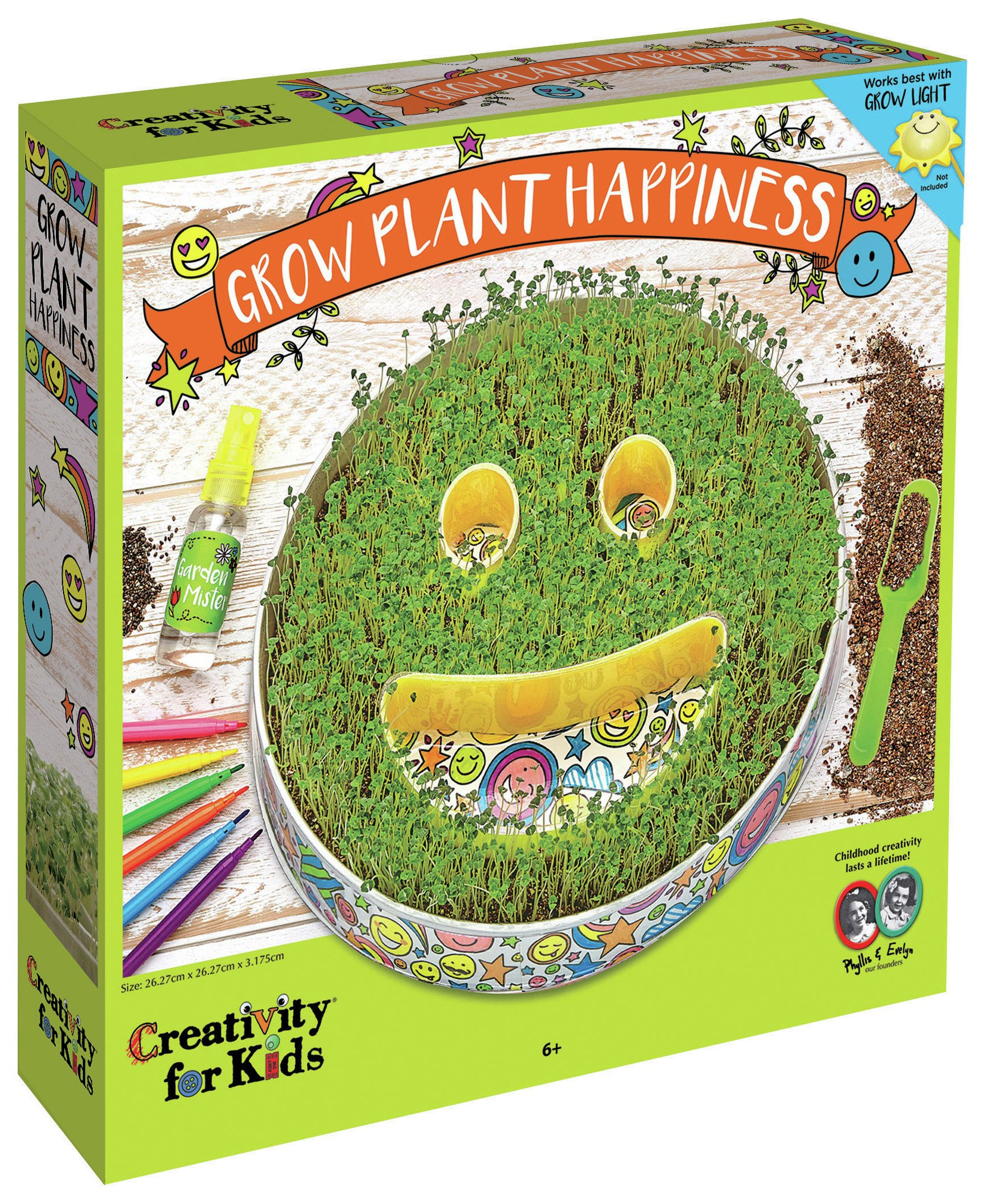 Image of Creativity for Kids GROW Plant Happiness Set.