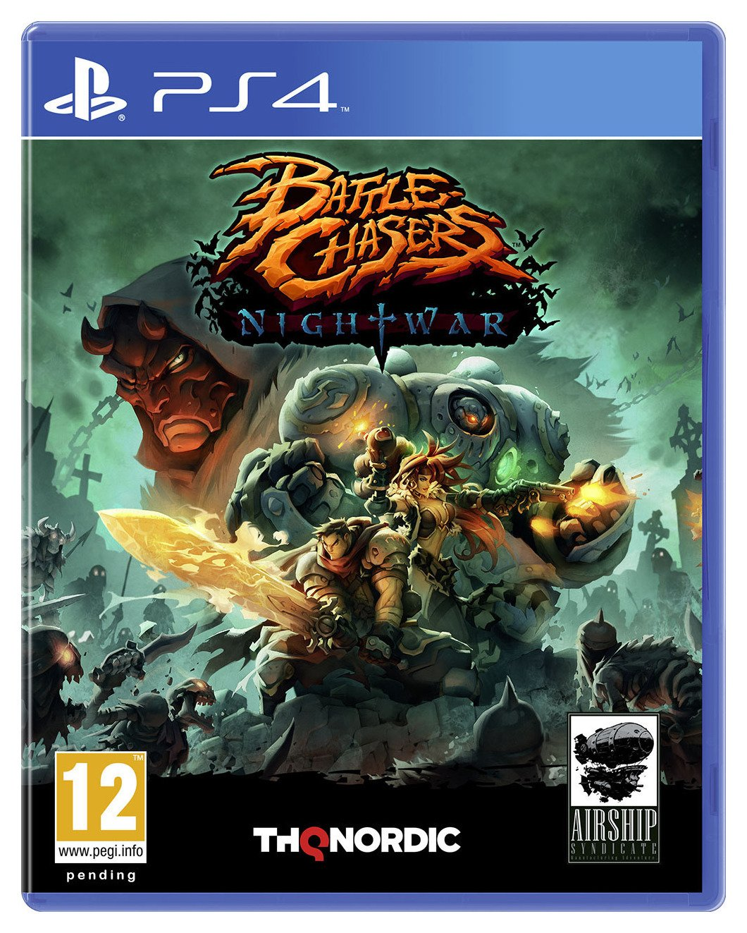 battle-chasers-nightwar-ps4-pre-order-game
