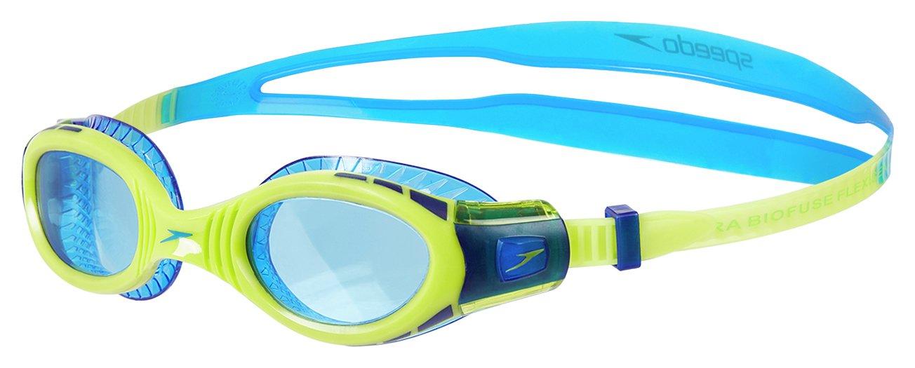 Speedo Junior Future Biofuse Goggles - Orange/Blue