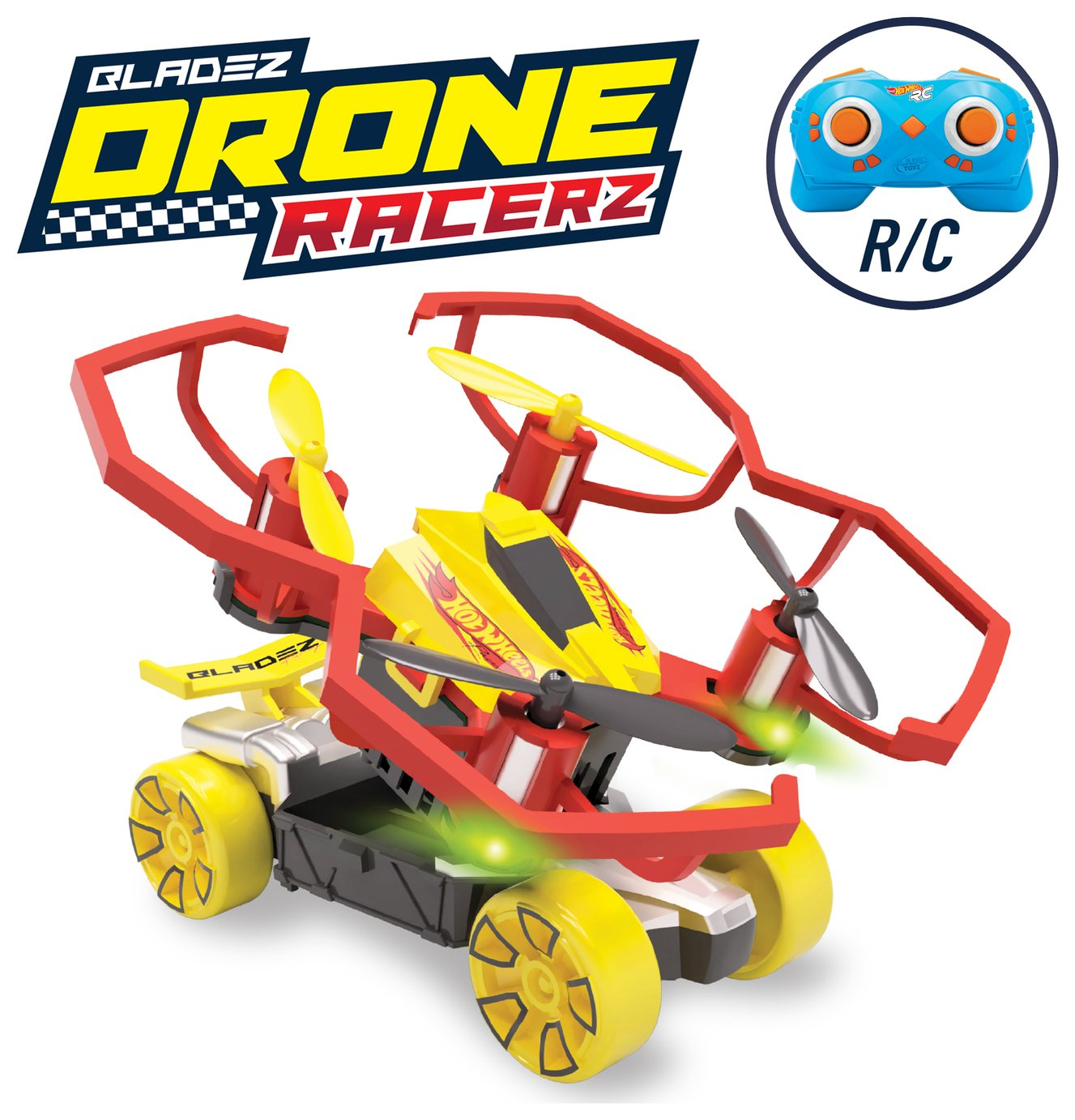 Image of Hot Wheels Drone Racerz Ramp It Up Set.