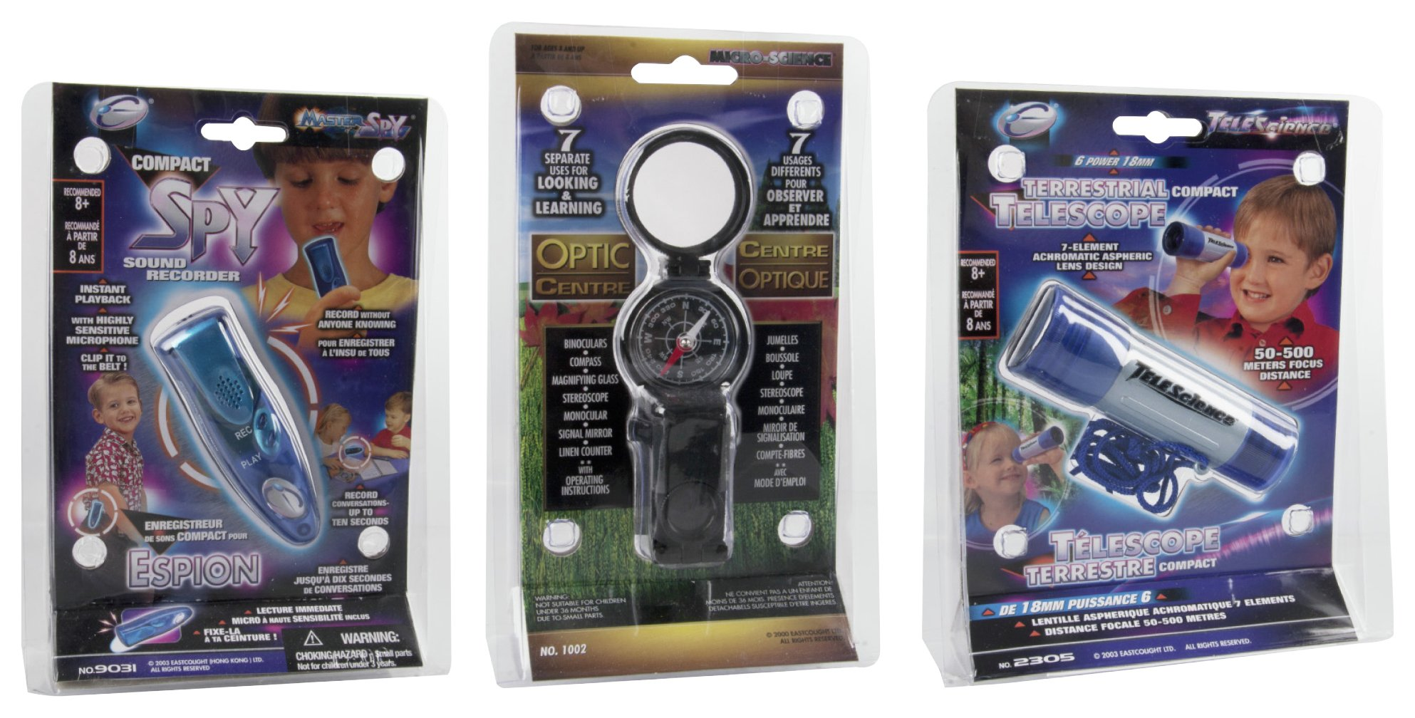 Great Gizmos Spy Compact Telescope, Recorder and Optic