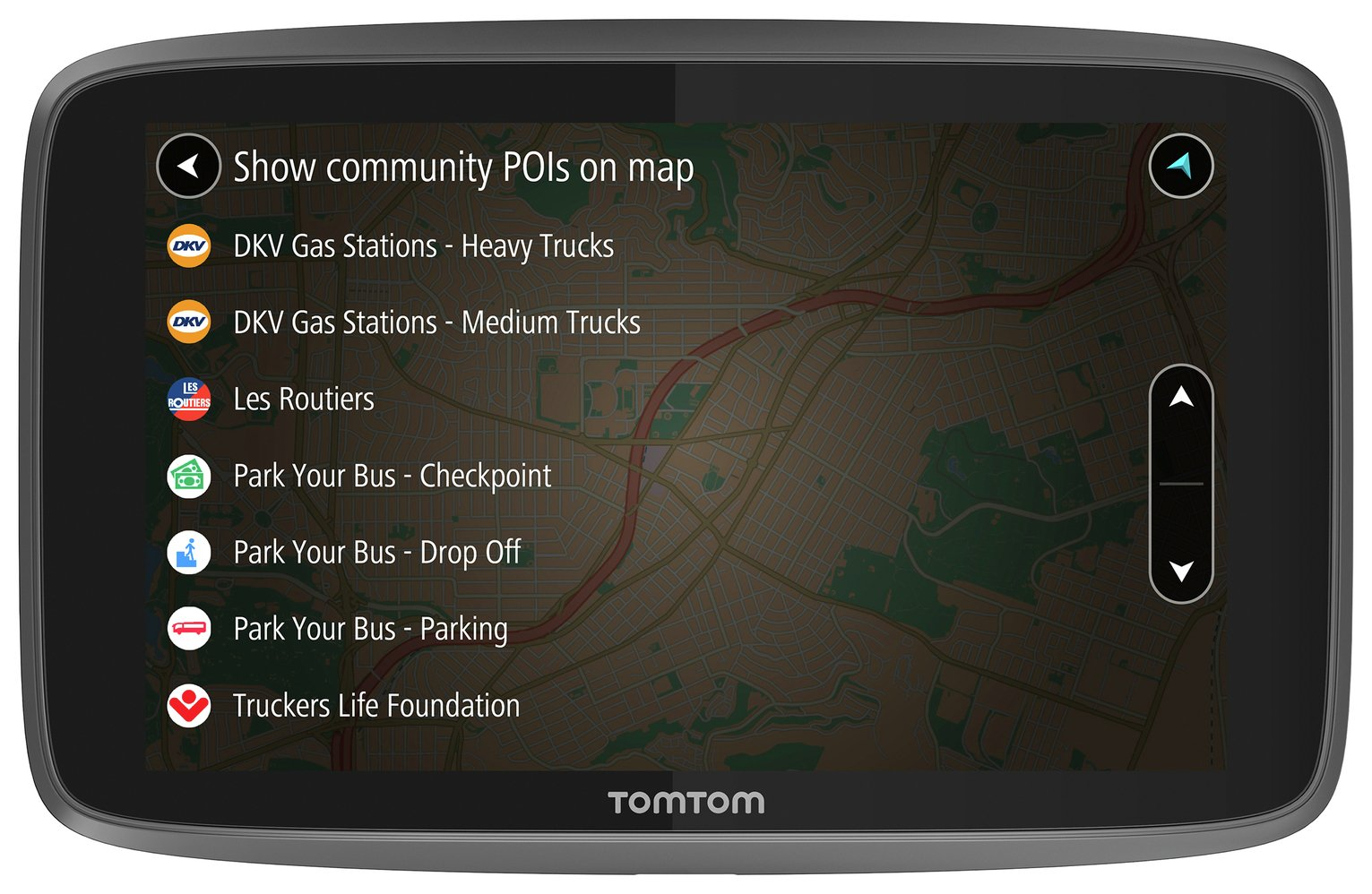 TomTom GO Professional 6200 6 Inch EU Traffic Truck Sat Nav