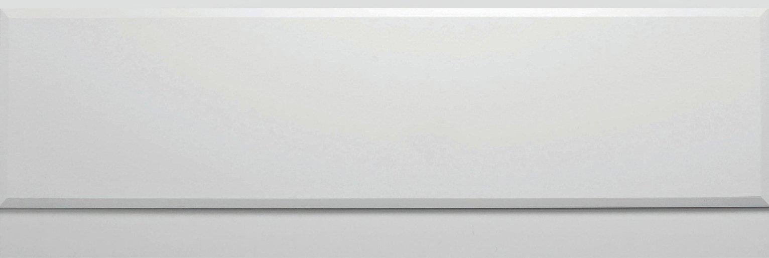 Image of Lavari Bath Panel - Light White Gloss