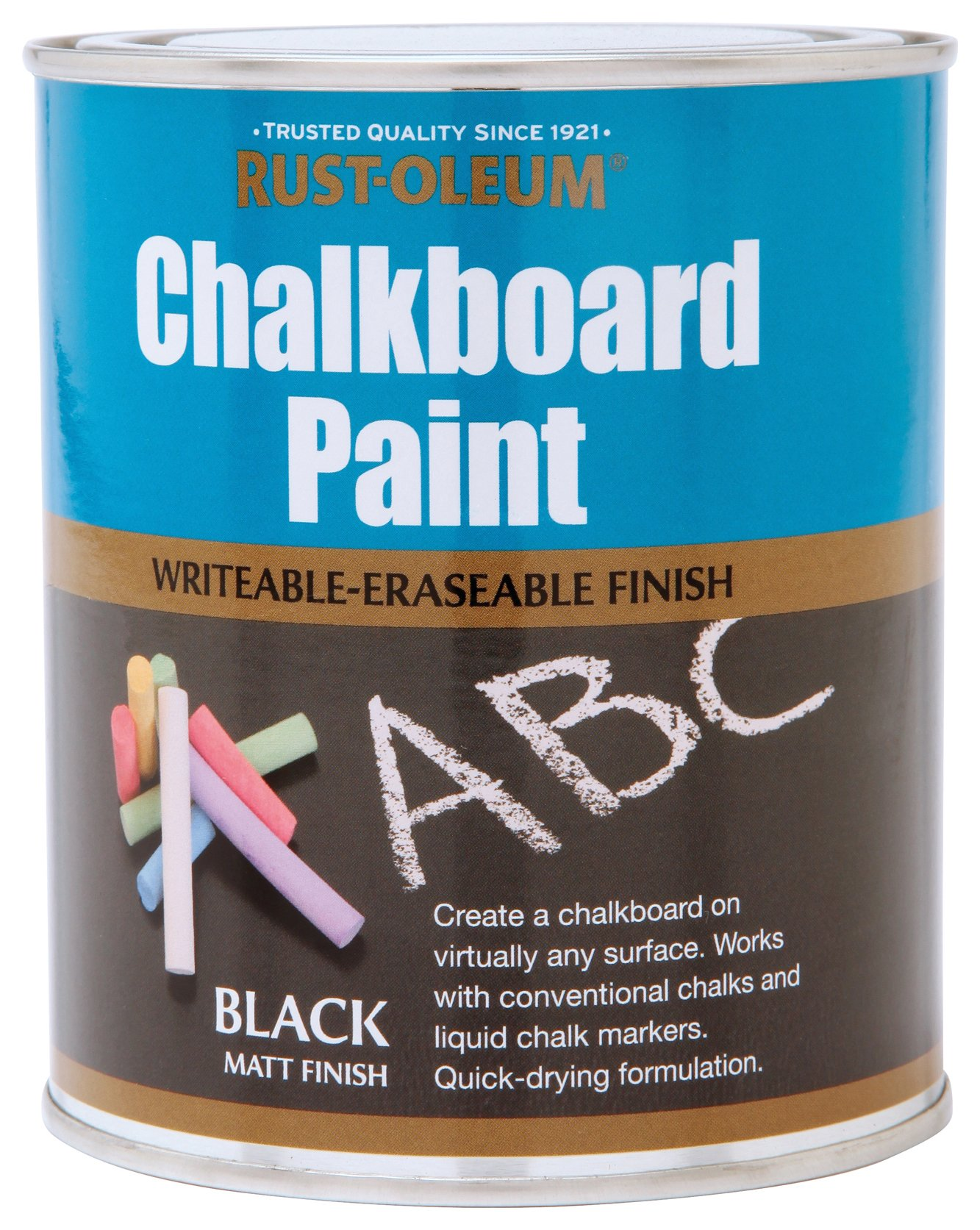 Rust-Oleum Chalkboard Paint 750ml - Matt Black
