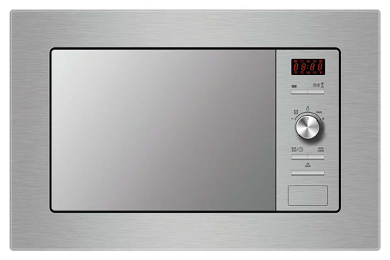 Indesit MWI122.2X Built In Microwave - Stainless Steel