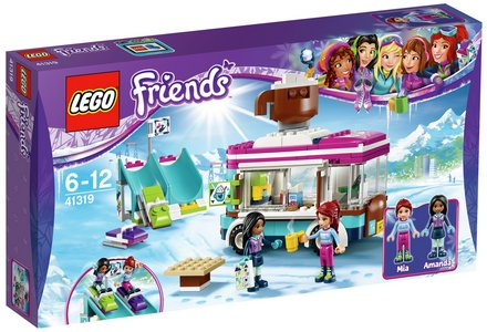 LEGO Friends Snow Resort Hot Chocolate Van - 41319.