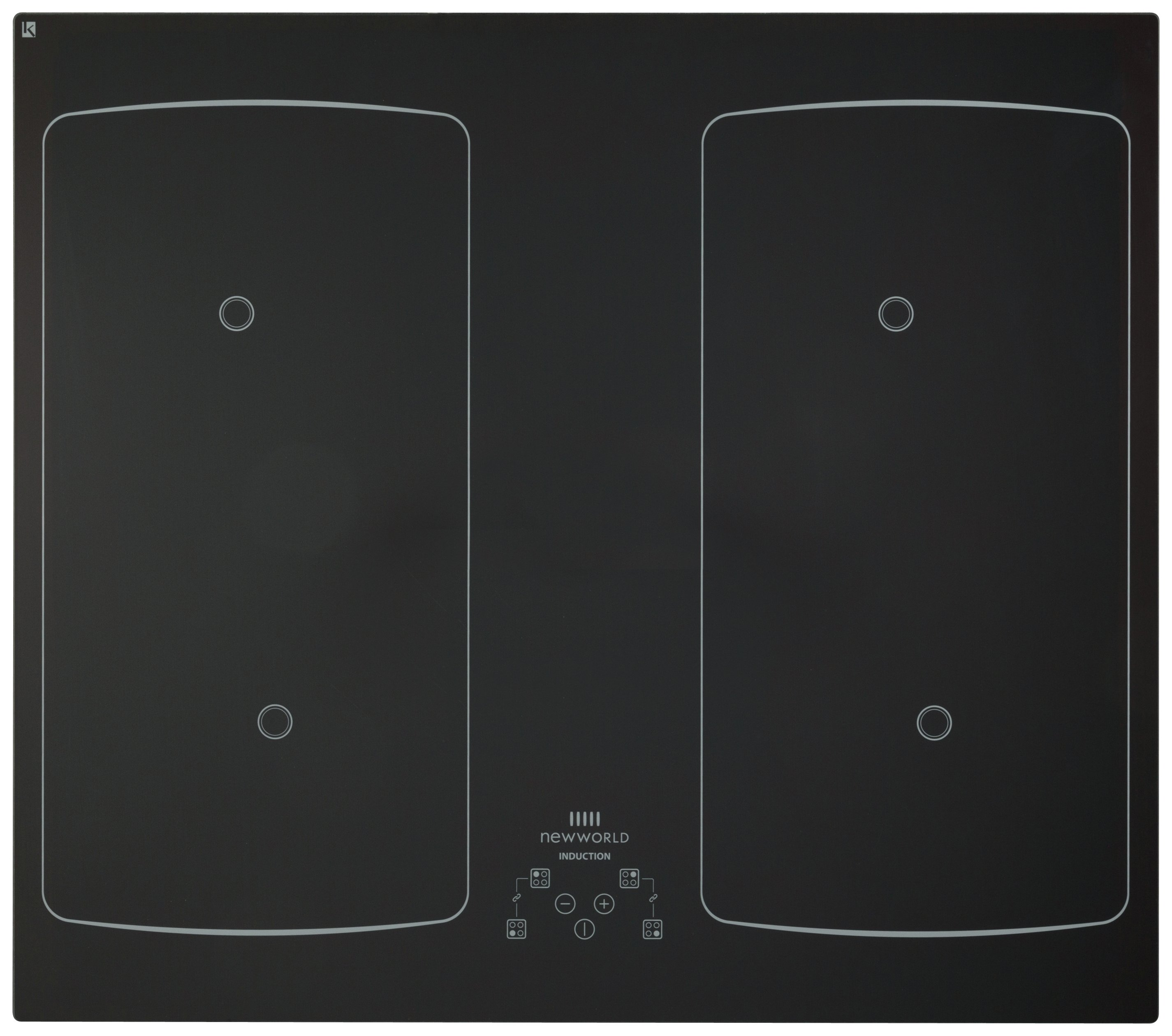 New World NWIHF60T Electric Induction Hob - Black