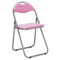 HOME Padded Folding Chair - Pink