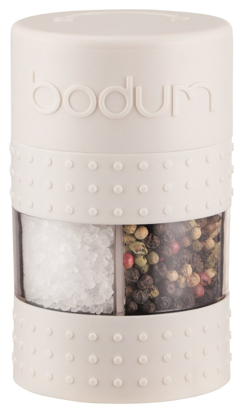 Bodum Bistro Salt and Pepper Grinder - White