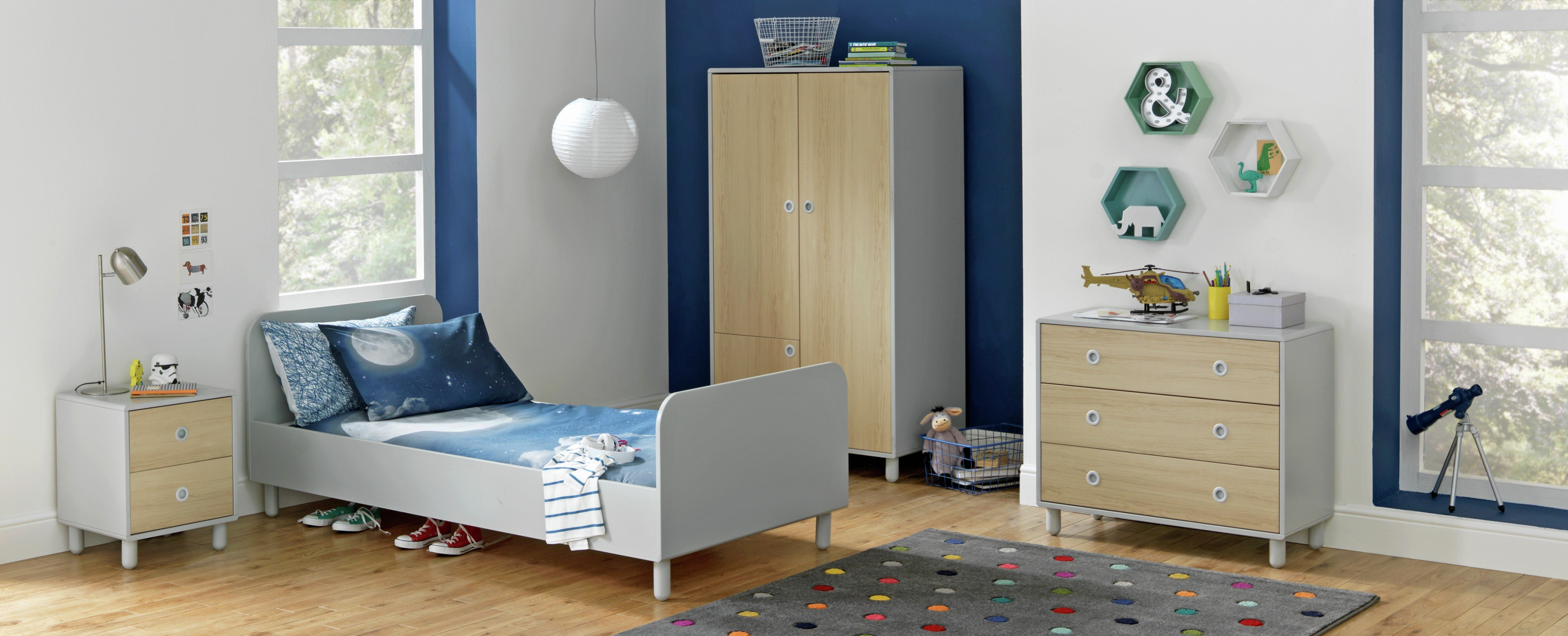 Collection Noah Bed Frame - Grey.