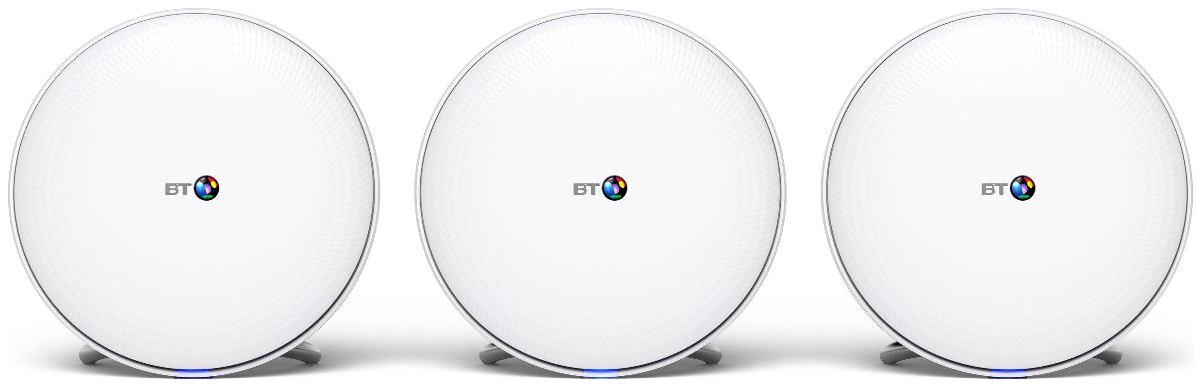 BT Whole Home Wi-Fi Triple Pack