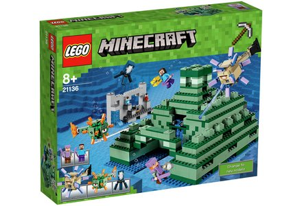 LEGO Minecraft the Ocean Monument - 21136.