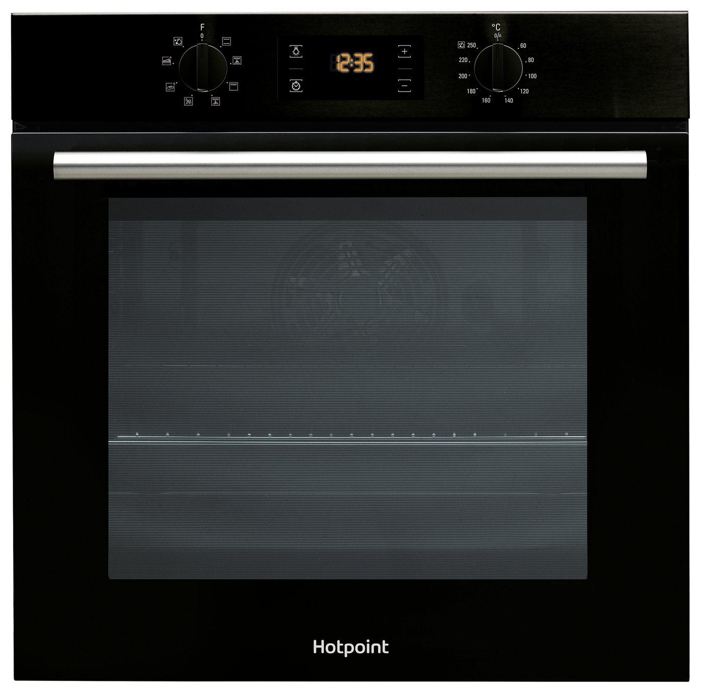 Hotpoint SA2540HBL Built In Single Electric Oven - Black