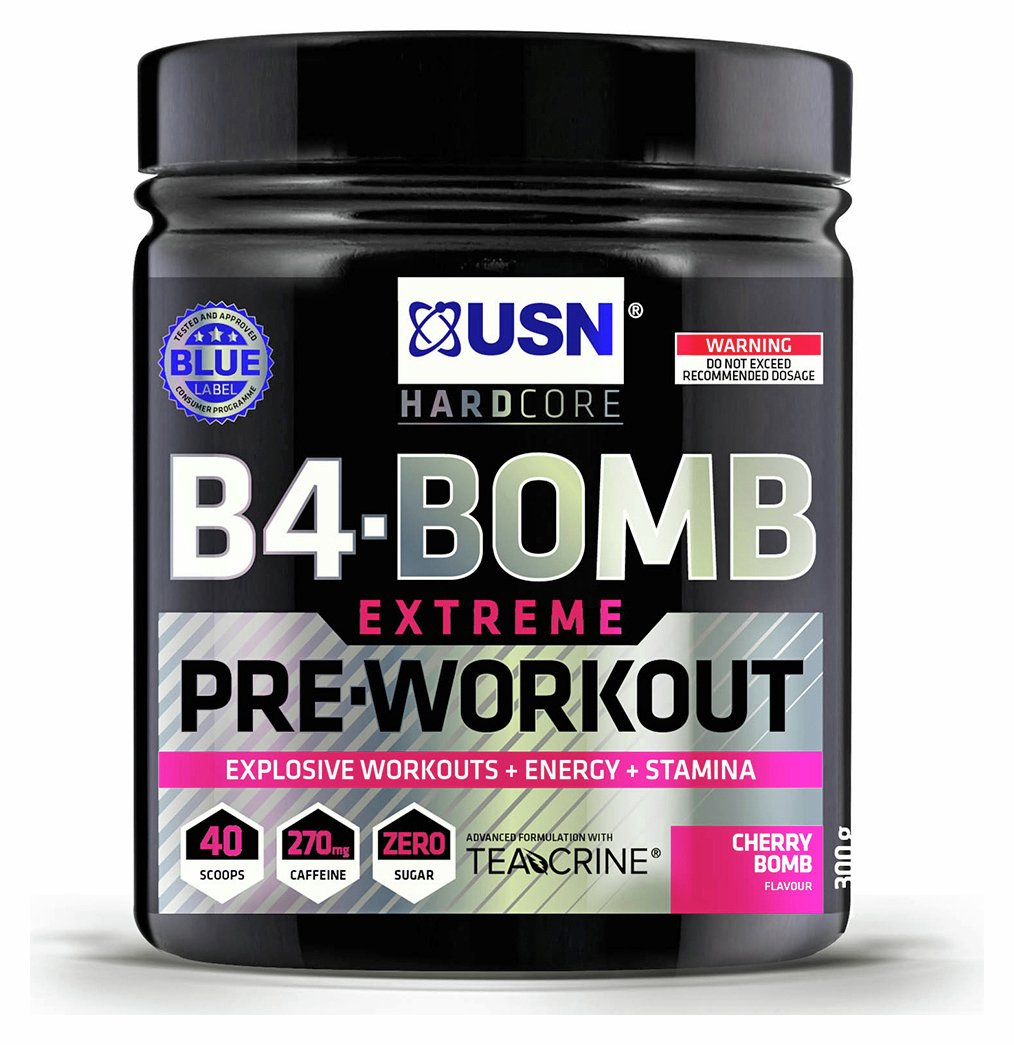 USN Pre Workout B4 Bomb Cherry Pop